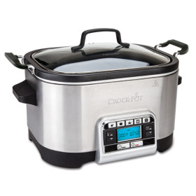 CrockPot Slowcooker 5,6 l - multifunktionell